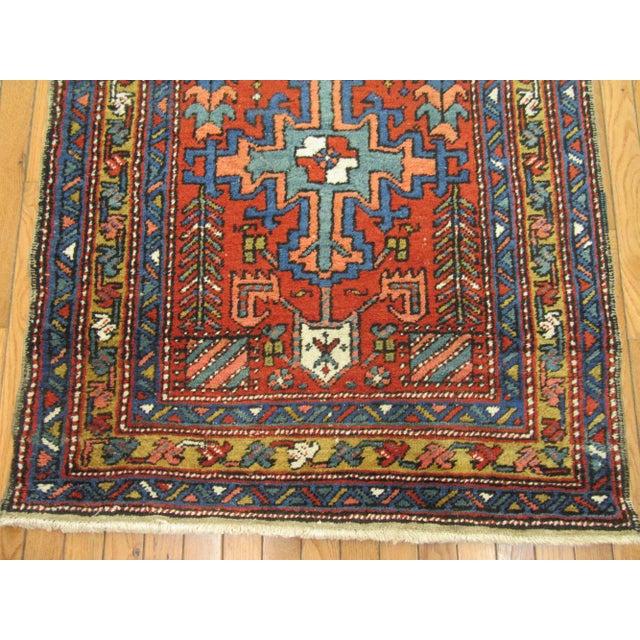 Islamic Surena Rugs Antique Handmade Persian Runner - 3' 2'' x 11' 2'' For Sale - Image 3 of 6