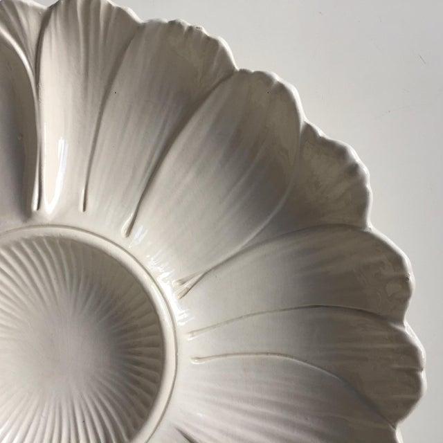 Ceramic 2 Italian Faience Artichoke Plates For Sale - Image 7 of 12
