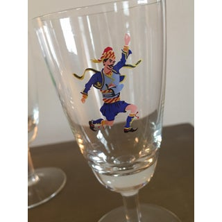 Unique Barware Glasses With Dancers - Set of 5 Preview