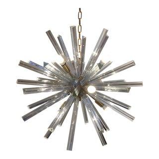Chandelier Murano Glass Triedo Sputnik For Sale