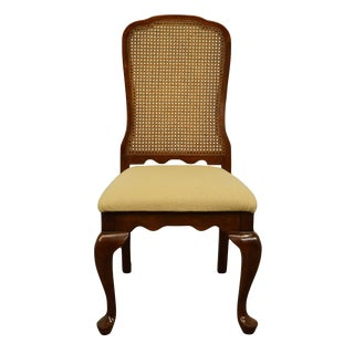 Kincaid Furniture Italian Provincial Cane Back Dining Side Chair For Sale