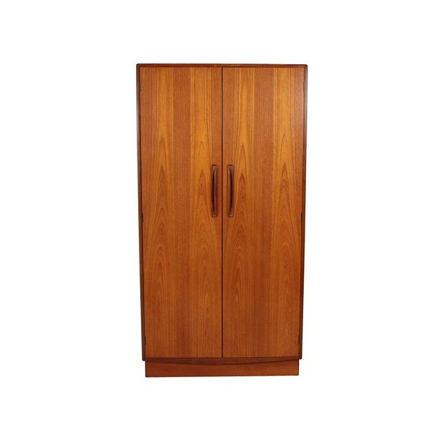 Mid Century G Plan Fresco Teak Wardrobe Armoire 2 of 2 For Sale - Image 9 of 9