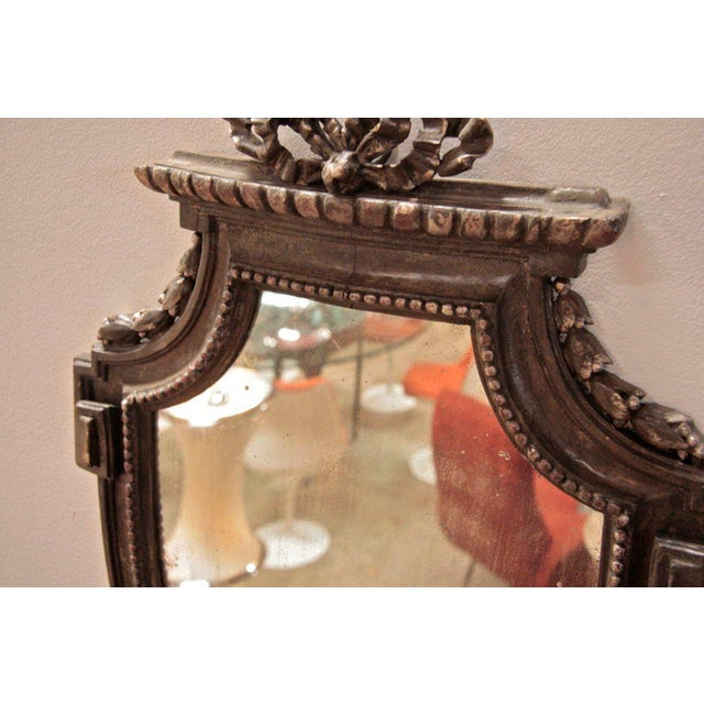 Brown Pair of Italian 19th Century Mirrors For Sale - Image 8 of 10