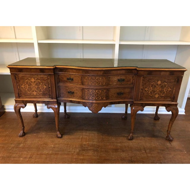 Early 20th Century Louis XV Style Sideboard Buffet For Sale - Image 12 of 12