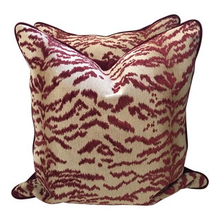 Rajah Cowtan and Tout Pillows - a Pair For Sale