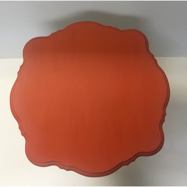 Orange Spice Accent Table - Image 8 of 8