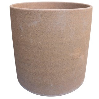 David Cressey Stoneware Cylinder for Earthgender, Circa 1970 For Sale