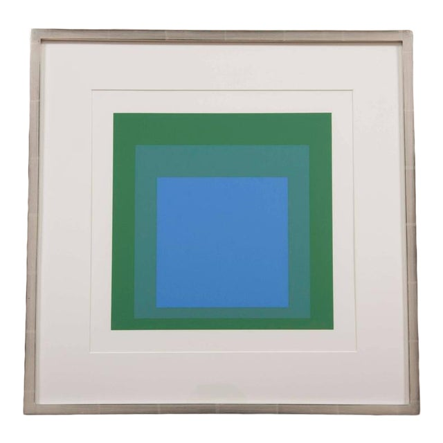 """Josef Albers """"Homage to Square"""" For Sale"""