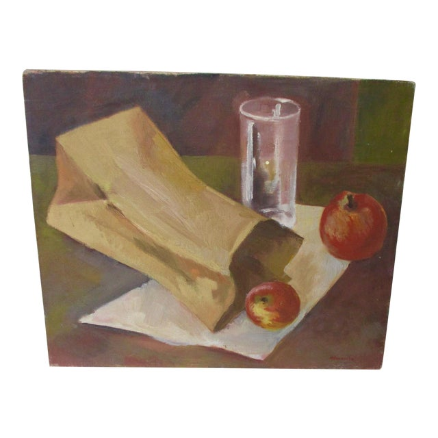 Modernist Still Life Painting - Image 1 of 8