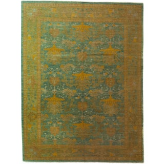 """Arts & Crafts Hand Knotted Area Rug - 10'4"""" X 13'5"""" For Sale"""