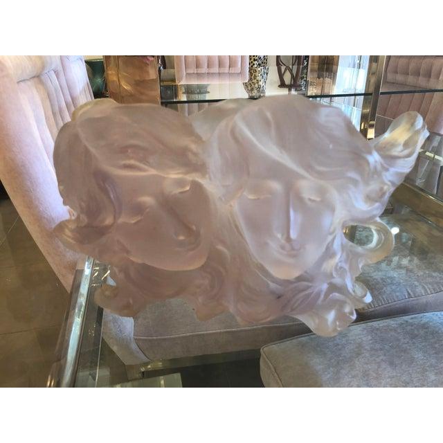 Art Deco Nouveau Pink Planter Vase Pot For Sale - Image 11 of 12