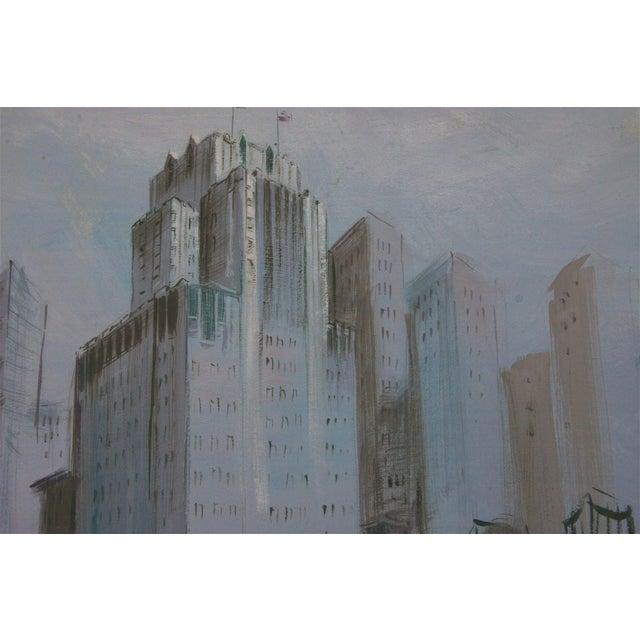 San Francisco Scene Painting - Image 3 of 4