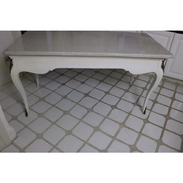 20th Century Victorian Style Writing Desk For Sale - Image 4 of 13