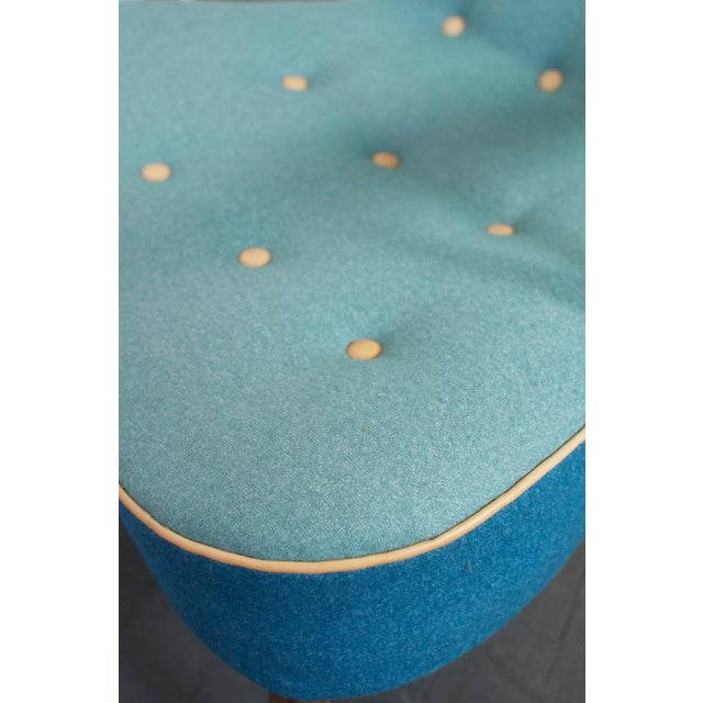 Turquoise Madsen and Schubell Pragh Lounge Chair For Sale - Image 8 of 9
