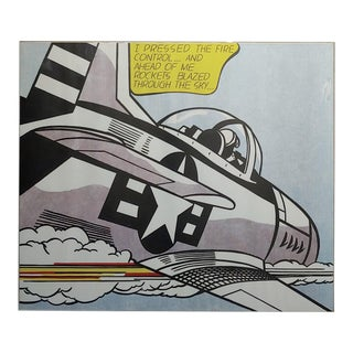 Roy Lichtenstein -Whaam ! - Two Vintage Lithographs Set For Sale
