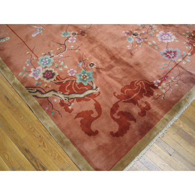 Chinese Art Deco Rug For Sale - Image 4 of 5