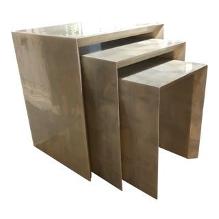 Made Goods Stacking Tables - Set of 3 For Sale