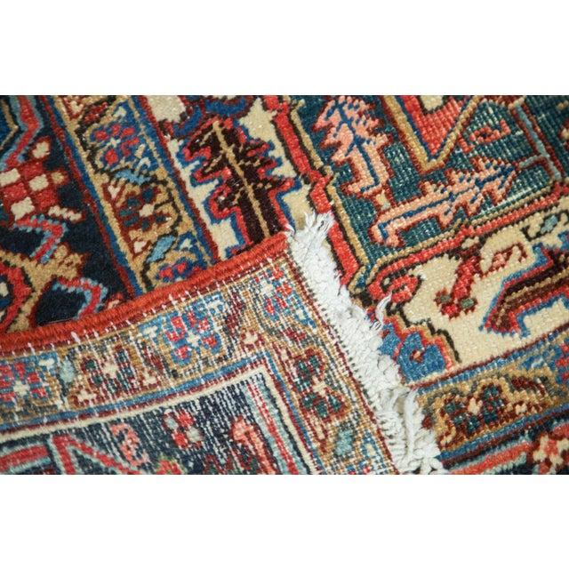 "Vintage Distressed Heriz Carpet - 8'11"" X 11'10"" - Image 6 of 10"