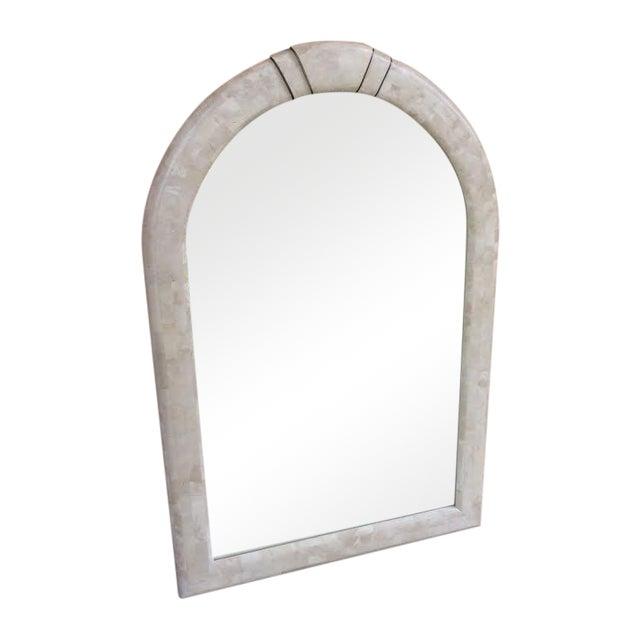 Maitland Smith Large Tessellated Stone Mirror - Image 1 of 5