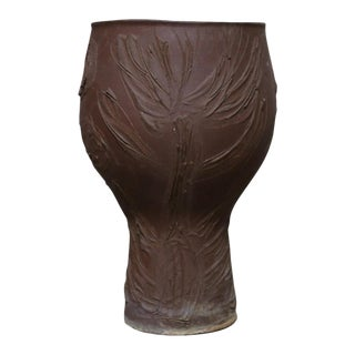 "Mid Century Modern David Cressy ""Expressive"" Design Ceramic Planter For Sale"