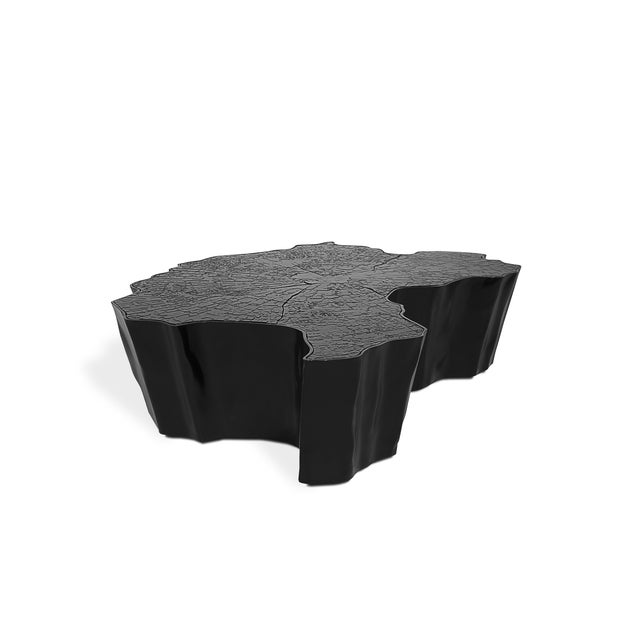 Eden Black Center Table From Covet Paris For Sale - Image 4 of 4