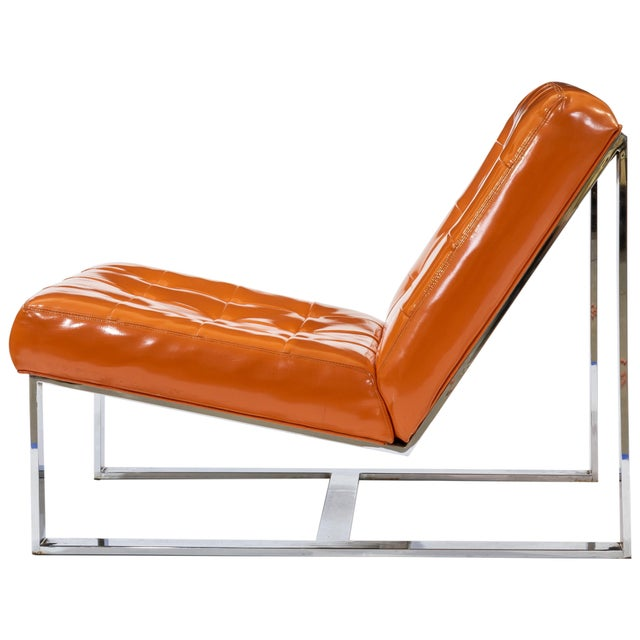 Mid-Century Modern 1960s Vintage Milo Baughman Lounge Chairs- A Pair For Sale - Image 3 of 6