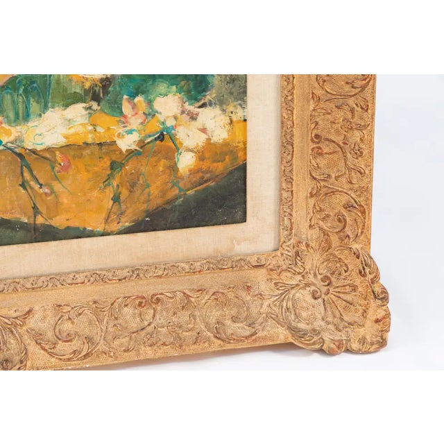 20th Century Oil Painting by French Artist Dolbeau For Sale In Los Angeles - Image 6 of 9