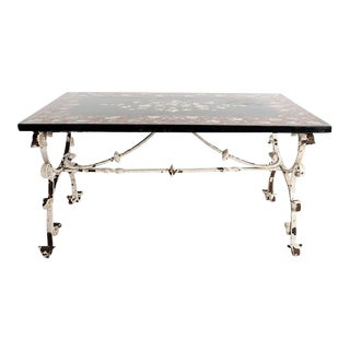 1900s Vintage Scagliola Top Table For Sale