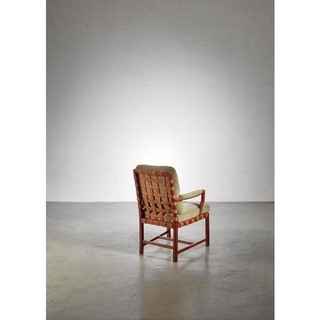Modern Walter Sobotka Armchair, Austria, Circa 1930 For Sale - Image 3 of 11