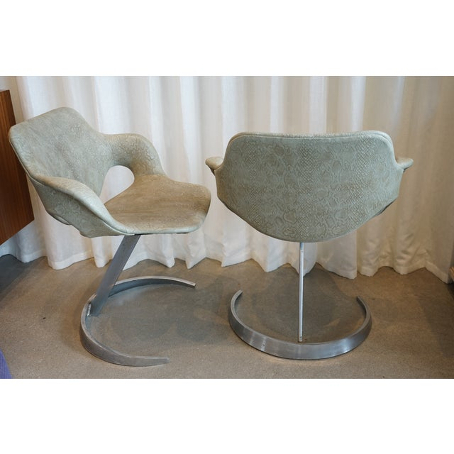 Pair of Vintage Chairs by Boris Tabocoff Chairs For Sale - Image 9 of 12