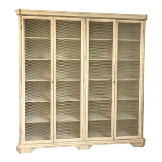 Antiqued Off White Gabby Home Cabinet