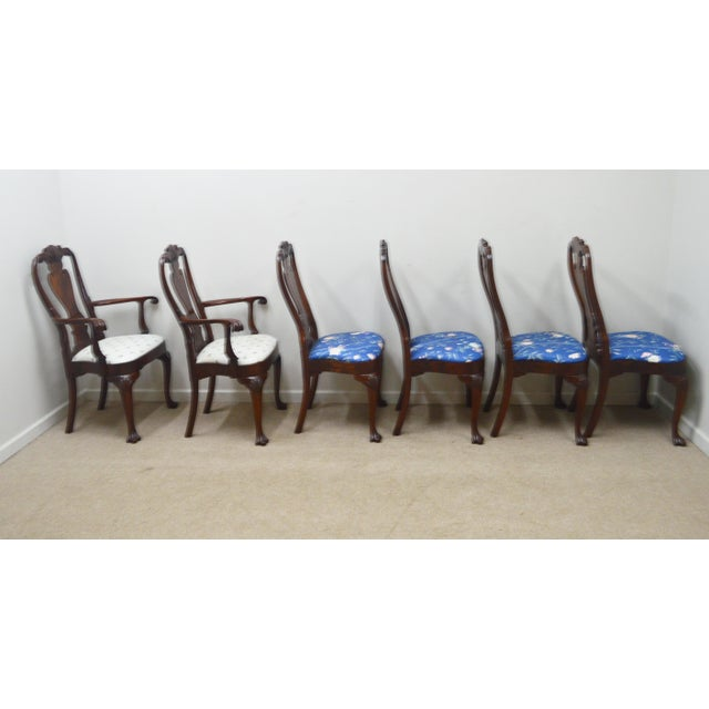 Councill Set of 6 Mahogany Dining Chairs For Sale - Image 9 of 13