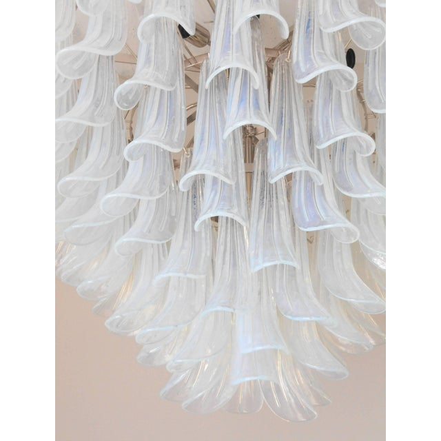 Metal Selle Chandelier For Sale - Image 7 of 10