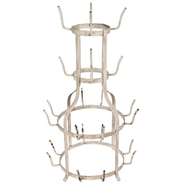 French-Style Bottle Drying Rack - Image 1 of 2
