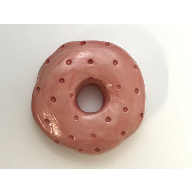 Ceramic Wall Donut Dot- Single For Sale In Charleston - Image 6 of 6