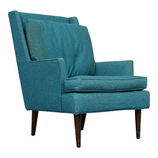 Mid-Century Modern Selig Pencil Leg Lounge Chair For Sale