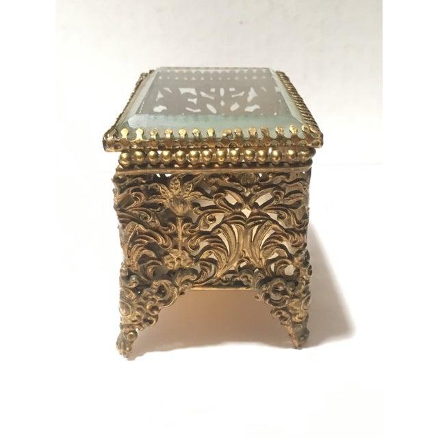1900 Antique Art Deco Anna Held Commemorative Trinket Box