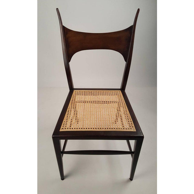 1950s Set of Eight Edward Wormley 5580 Dining Chairs for Dunbar, 1950s For Sale - Image 5 of 13