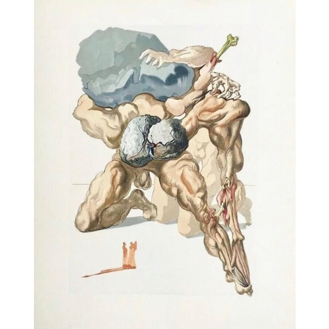 Salvador Dalí Hell Canto #7, The Divine Comedy (Field 196) 1959-1964 For Sale