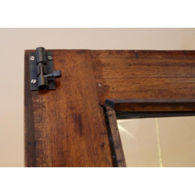 Chippendale / Queen Anne Style Display Cabinet with Ball and Claw Feet For Sale - Image 10 of 12