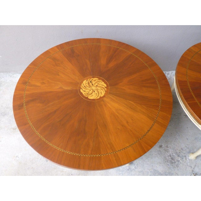 1950s Neoclassical Palladio Coffee Tables - a Pair For Sale - Image 10 of 13