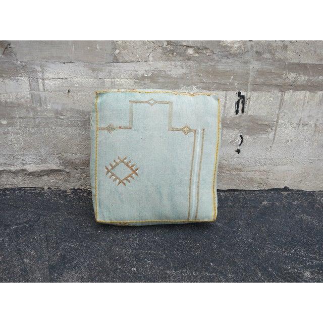Sabra Silk Moroccan Floor Pillow - Image 2 of 3