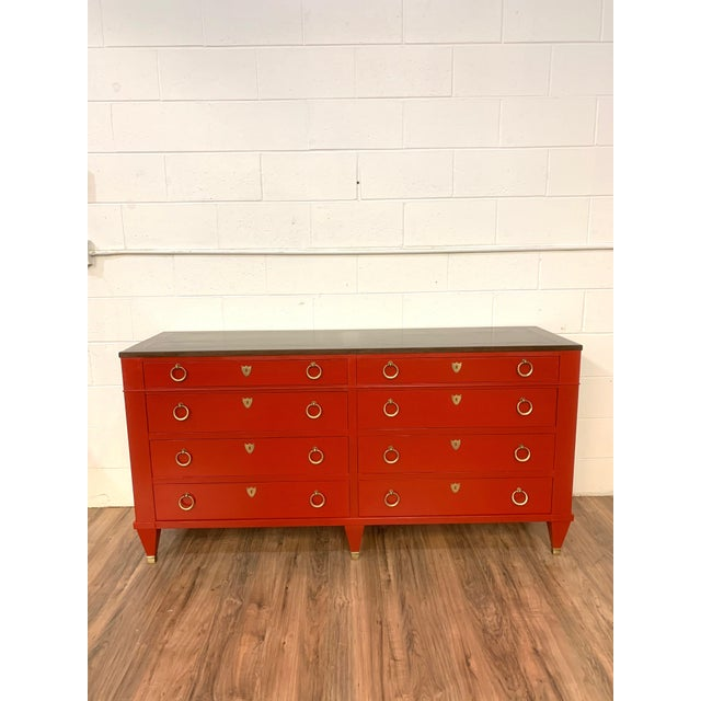 1960s Baker Furniture Chest of Drawers For Sale - Image 9 of 9