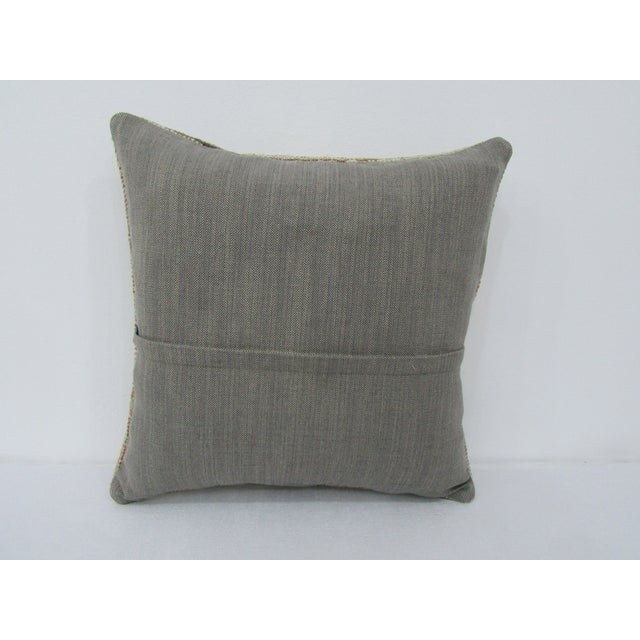 Turkish Turkish Worn Vintage Decorative Pillow Cover For Sale - Image 3 of 4