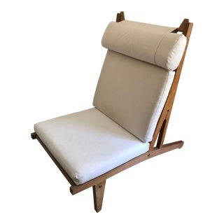 1960's Vintage Hans Wegner Ge375 Lounge Chair