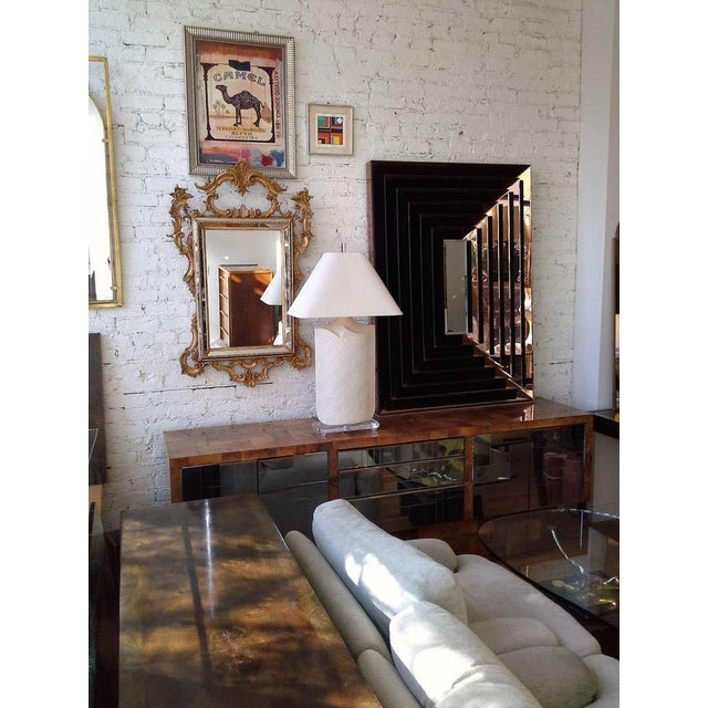 Modern Large Plaster and Lucite Lamp by Casual Lamps of California For Sale - Image 3 of 11