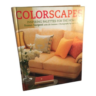 Colorscapes Book by Susan Sargent & Jill Connors For Sale
