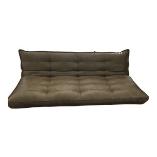 Recycled Leather XL Sleeper Sofa-Urban Outfitters