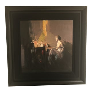 Original Italian Antonio Tamburo Painting For Sale