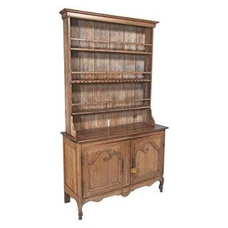Louis XV Style Pine Vaisselier / Buffet / Plate Rack